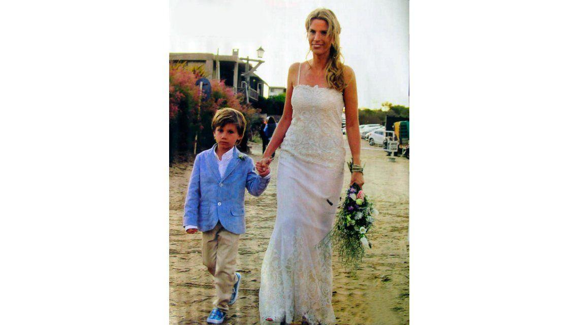 La fiesta de casamiento top de la hermana de Susana Giménez, a orillas del mar