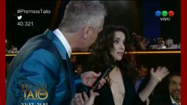 El reclamo de Natalia Oreiro en los Tato por no premiar a Entre Caníbales