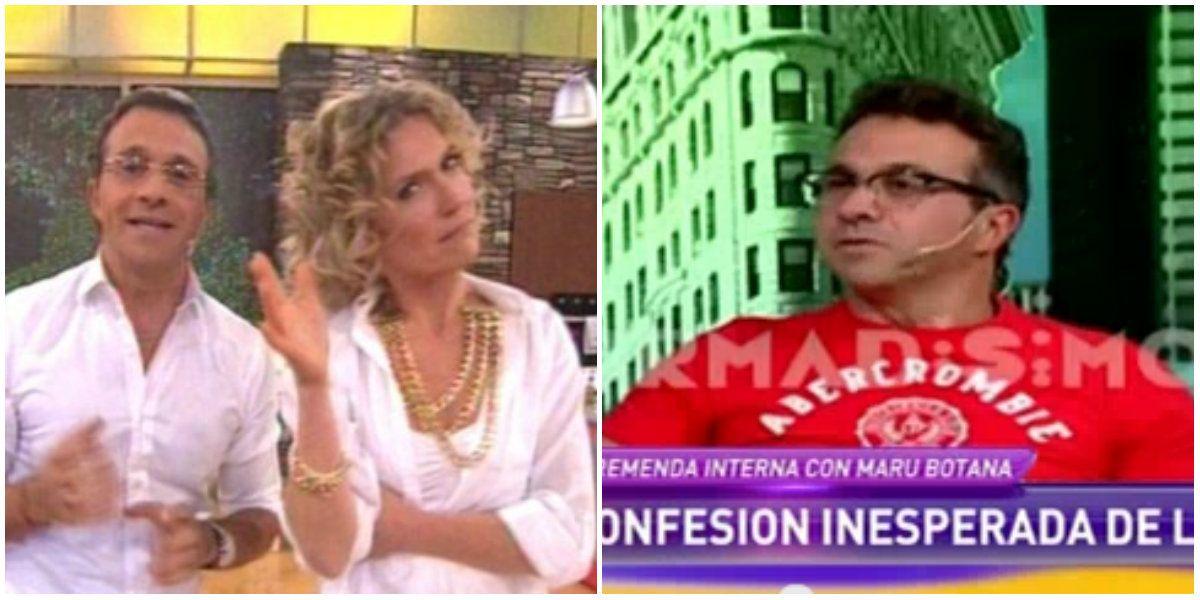 Sergio Lapegüe contó la mala relación que tuvo Maru Botana: Llegaba llorando a mi casa