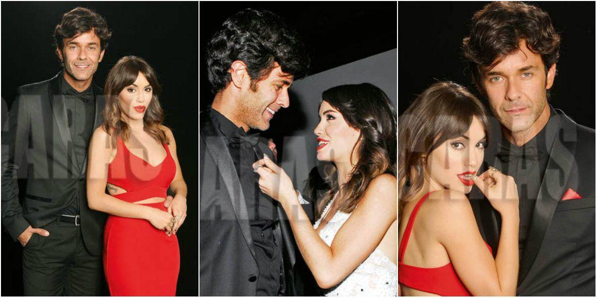 Lali Espósito y Mariano Martínez, la pareja del momento: miradas cómplices y seducción