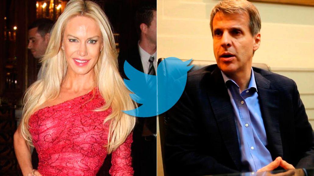 La insólita excusa de Luciana Salazar para dejar de seguir a Martín Redrado en Twitter