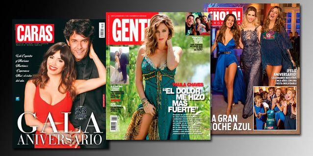 Mir las tapas de revista de esta semana lali esp sito y for Revistas de espectaculos de esta semana