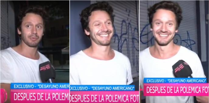 Después del fuck you a la prensa, Benjamín Vicuña cambió el perfil: relajado, risas y buena onda