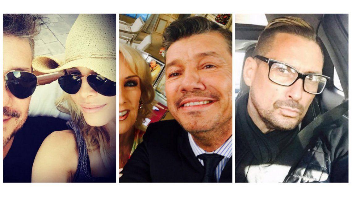 Los mensajes de Guillermina Valdes y Luciano El Tirri a Marcelo Tinelli durante la entrevista con Mirtha Legrand