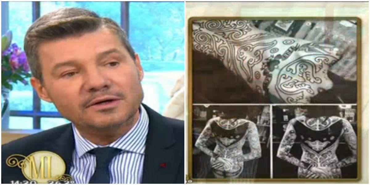 Marcelo Tinelli habló sobre el último tatuaje de Candelaria: La cola es lo que más me molestó, le dije ¿es necesario?