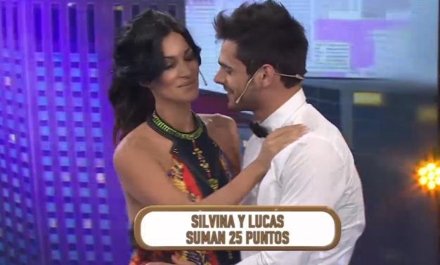 El momento tenso entre Silvina Escudero y Lucas Velasco, recién reconciliados en la tevé: mirada fatal
