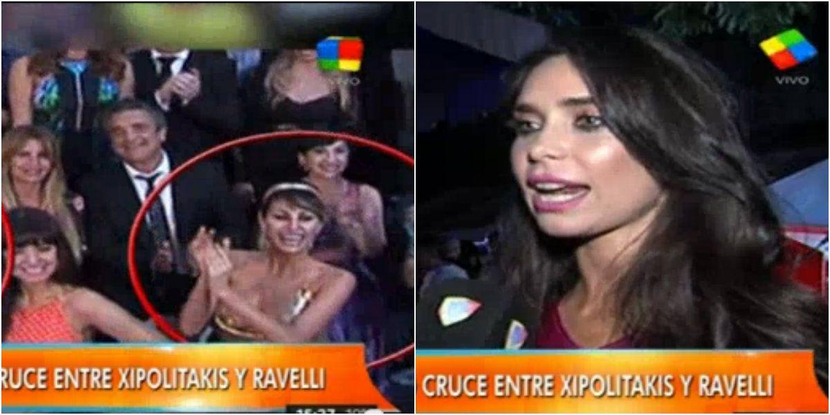 Vicky Xipolitakis vs. Sabrina Ravelli: tacazos, codazos y empujones en Mar del Plata