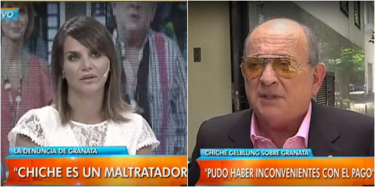 Amalia Granata vs. Chiche Gelblung, ella lo acusa de maltratador y él le responde: Es una fracasada