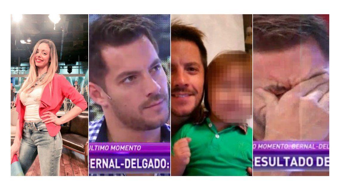 Dio positivo el ADN y Francisco Delgado es el papá del hijo de Gisela Bernal: Me hubiera encantado estar los tres años que estuvo Ariel Diwan