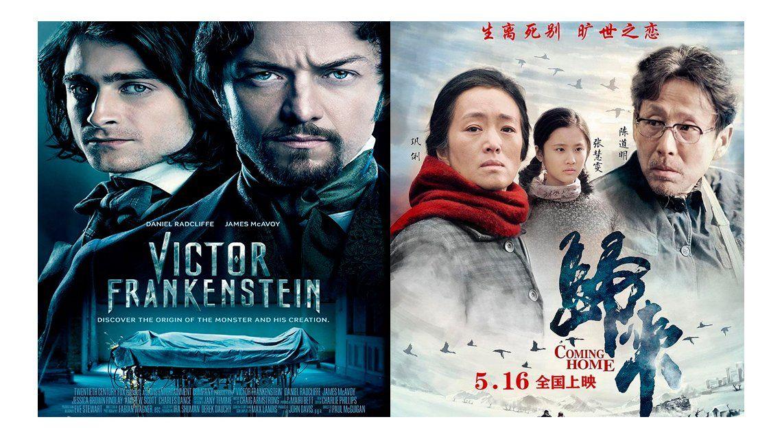 Victor Frankestein y Camino a casa, los estrenos de la semana