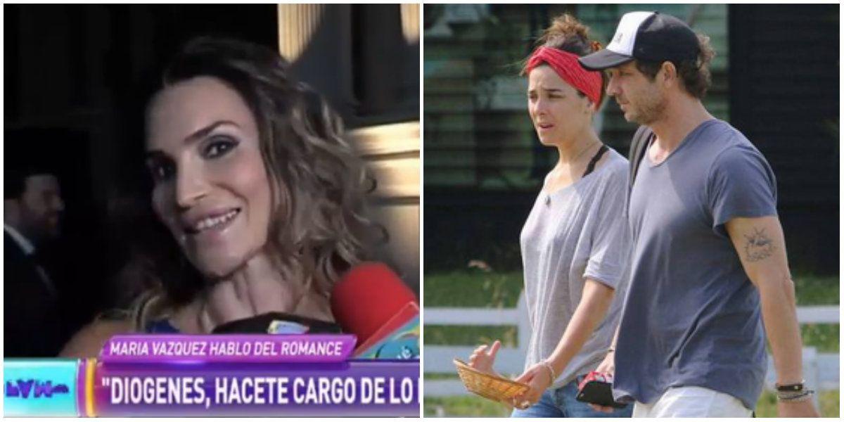 Desopilante entrevista a María Vázquez retando a su hermano Diógenes por no hablar del romance con Juana Viale: ¡Por no dar la cara, la doy yo!