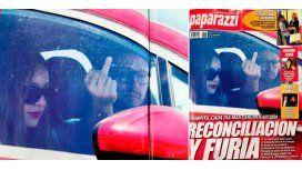 Pampita y Benjamín Vicuña: reconciliación y gesto ofensivo contra la prensa