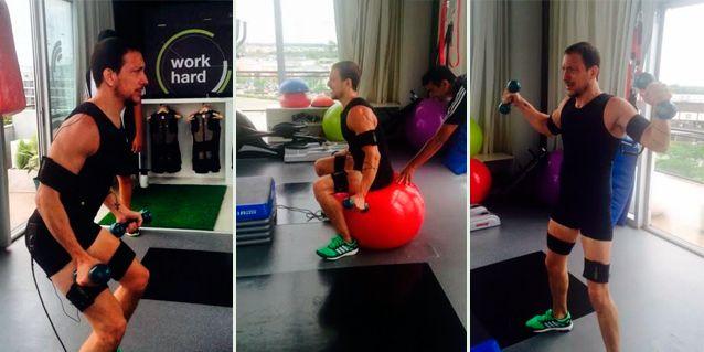 El súper físico de Nicolás Vázquez: mirá su exigente entrenamiento
