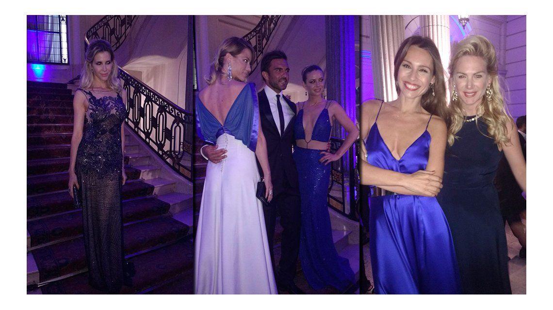 El look de los famosos en la elegante gala de Hola!: todos de azul
