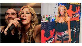 Marce Baños festejó su cumpleaños con amigos y un show sorpresa de Agostini