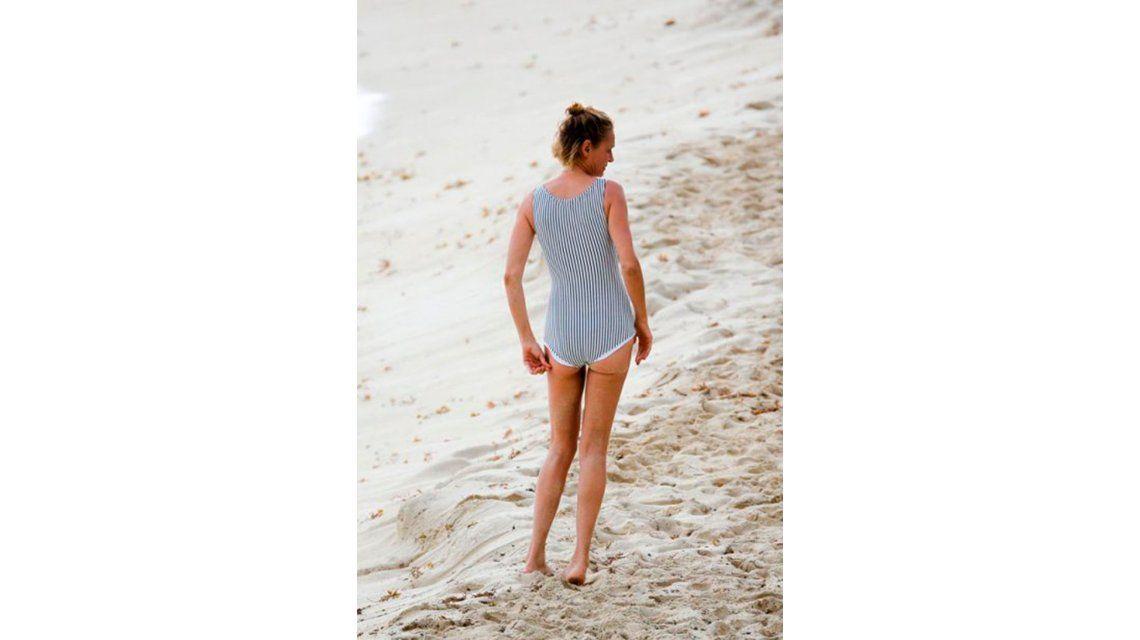 ¿Qué le pasó a Uma Thurman? Las fotos de la actriz en traje de baño y bastante desmejorada