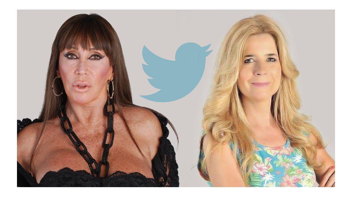 La escandalosa guerra tuitera de Moria Casán y Mercedes Ninci: Cotorra venida a menos