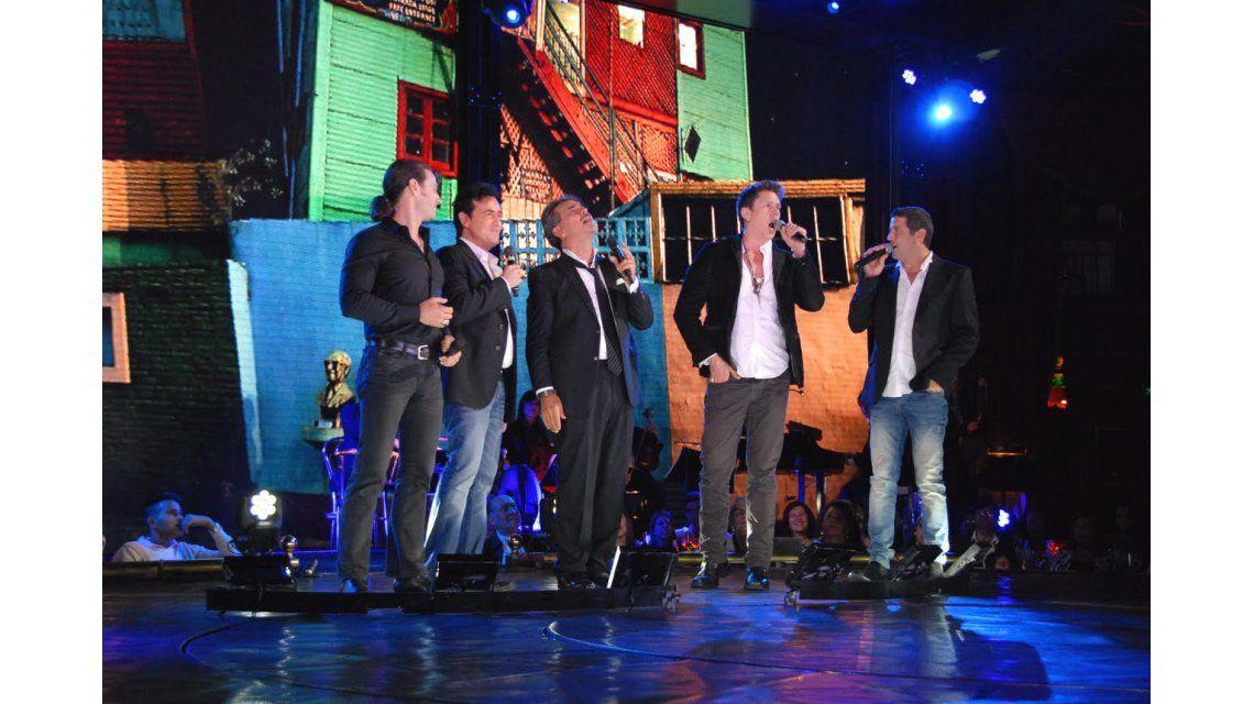 Il Divo cantó junto a Fernando Soler en Señor Tango