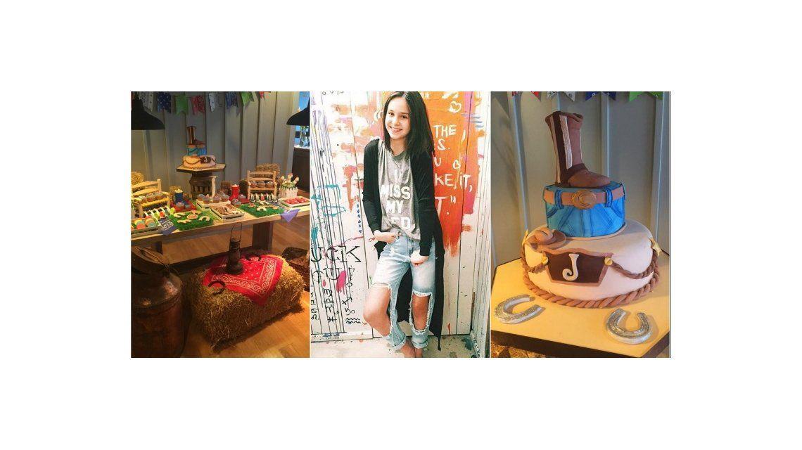 El divertido e infantil cumpleaños de Juana Tinelli