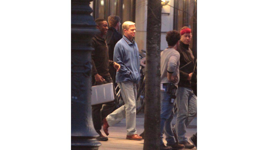 Mirá el cambio de look de Brad Pitt para su nueva película War Machine