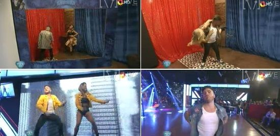 Fallida coreografía de Fede Bal y Laurita Fernández: Mucho ruido y pocas nueces