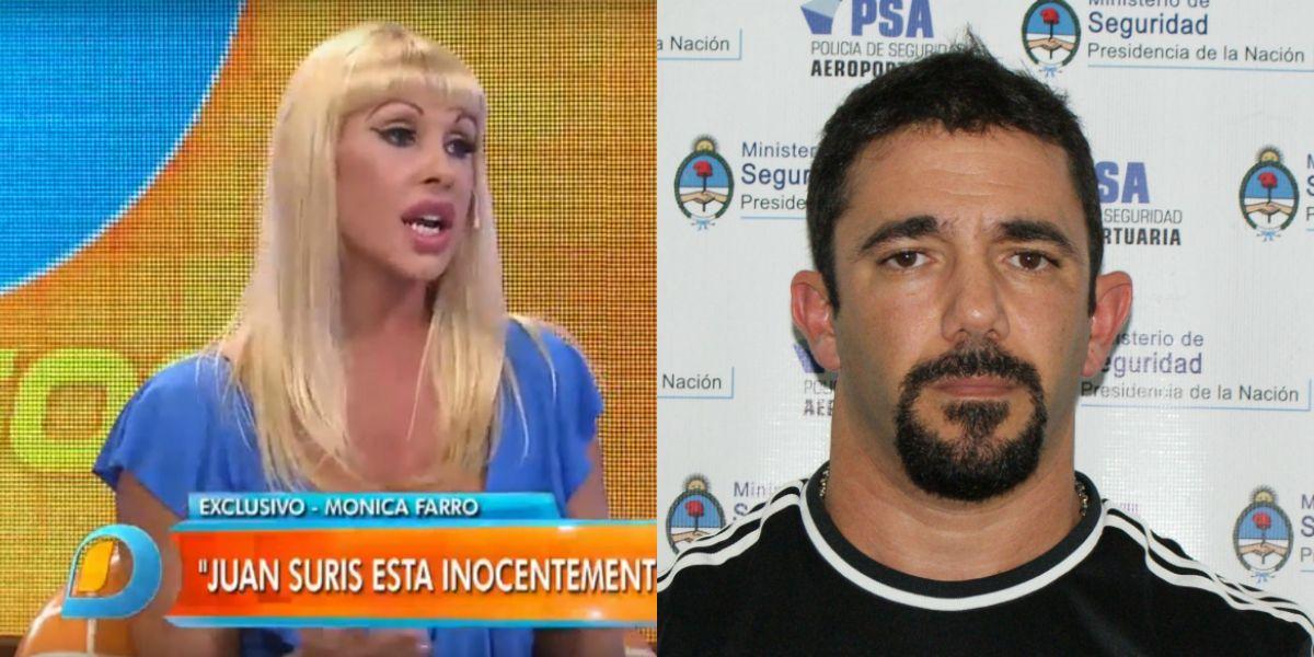 ¿Juan Suris tiene una amante en la cárcel? La respuesta de Mónica Farro