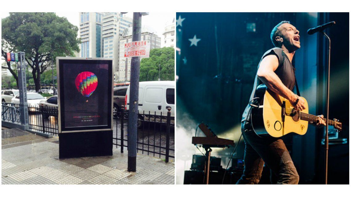 Confirmado: Coldplay viene a la Argentina