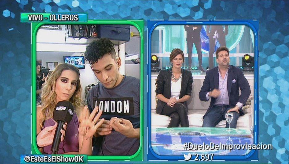 El día de furia de Cinthia Fernández: ¡se peleó con todo el panel de Este es el Show!