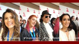 El look de las estrellas de la música en la alfombra roja de los Grammys latinos