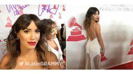 Lali Espósito deslumbró la alfombra roja de los Grammys latinos
