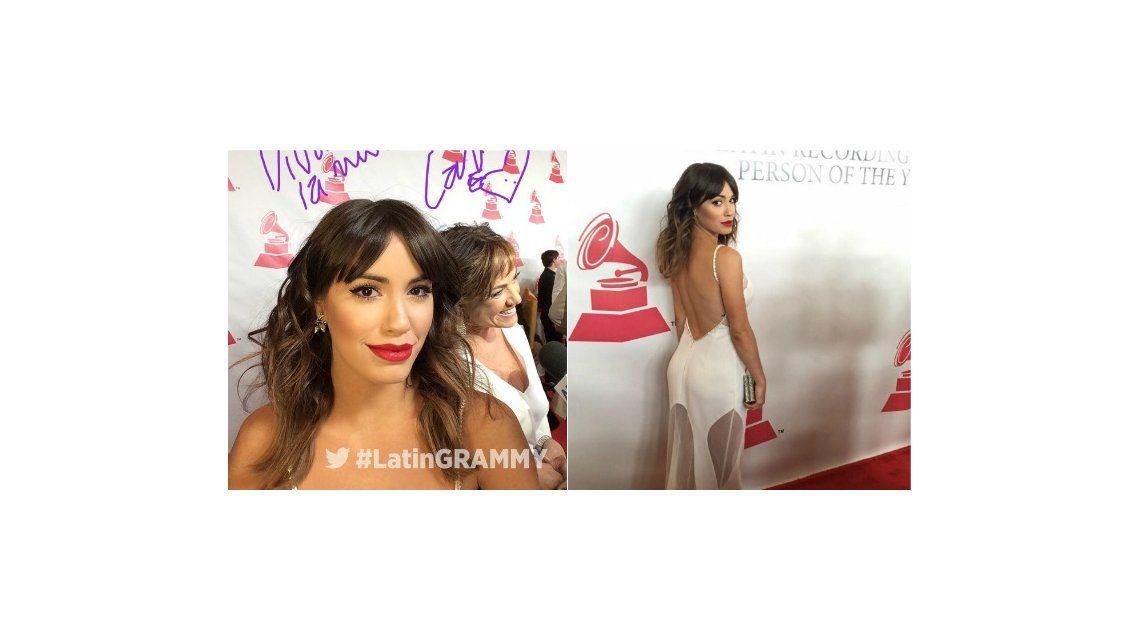 Lali Espósito deslumbró la alfombra roja de los Grammys latinos junto a importantes celebridades