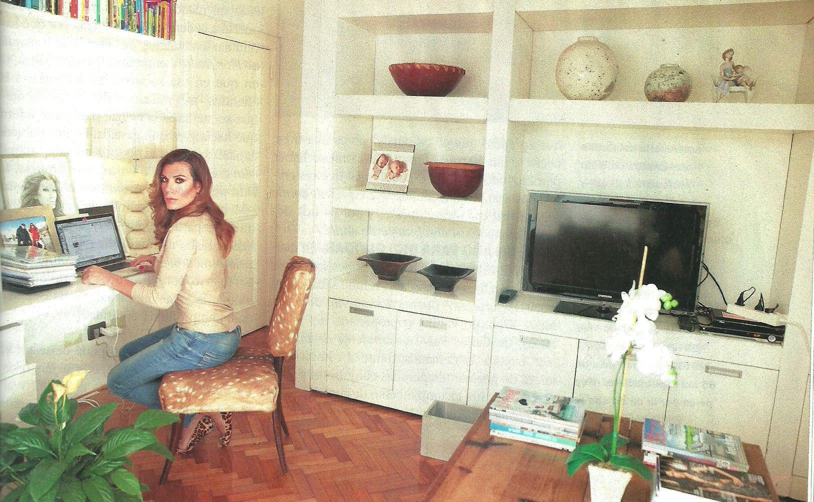 En medio de su crisis financiera, Florencia de la Ve muestra su nueva casa