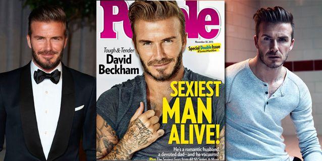 Según People, David Beckham fue elegido el hombre más sexy del mundo: mirá su reacción