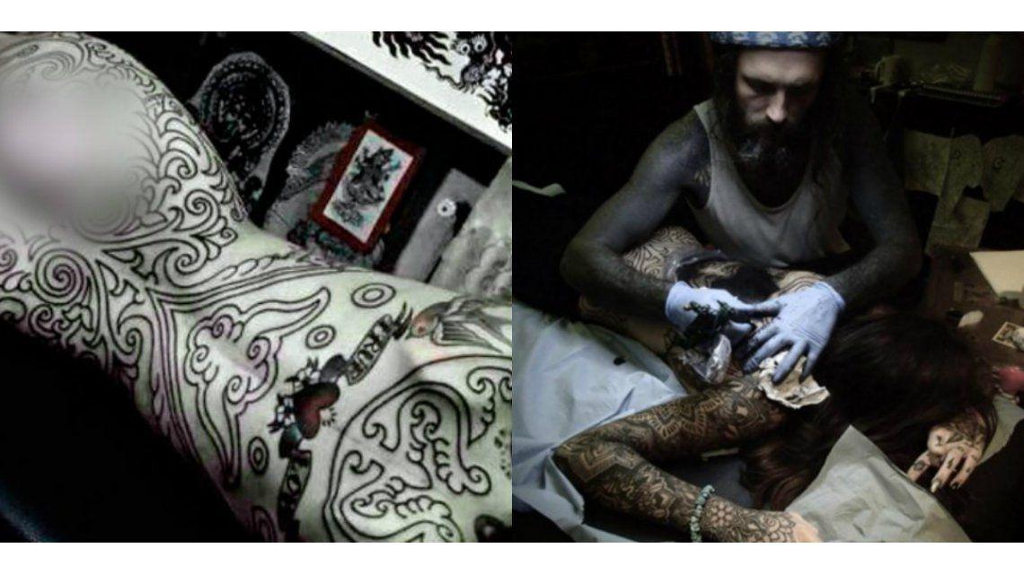¿Cuánto le costó a Candelaria Tinelli el tatuaje que cubrió todo su cuerpo?