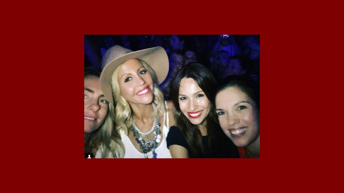 La noche a pura música y baile de Pampita con amigas: Ya no puedo más