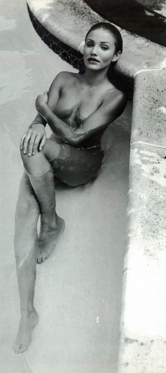 Las fotos inéditas de Cameron Díaz, desnuda