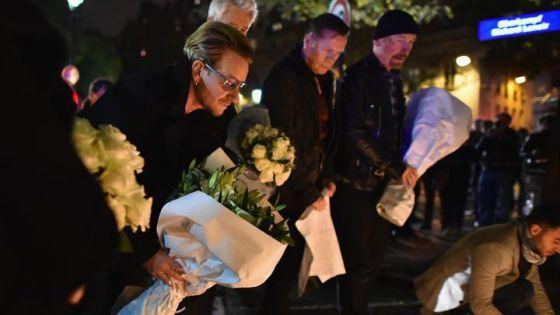 Los cuatro miembros de U2