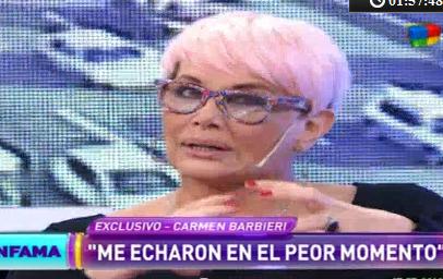 Carmen Barbieri: El Chato Prada, Federico Hoppe y Ezequiel Corbo son tres hijos de p...
