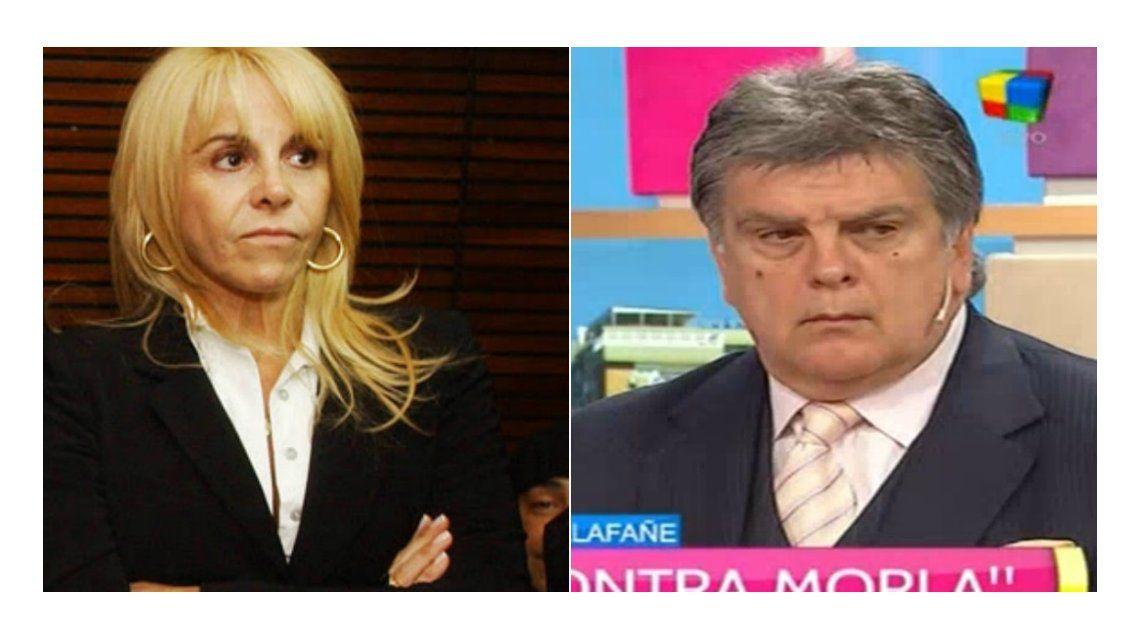 El tenso cruce de Claudia Villafañe y Luis Ventura por Diego Maradona y Verónica Ojeda