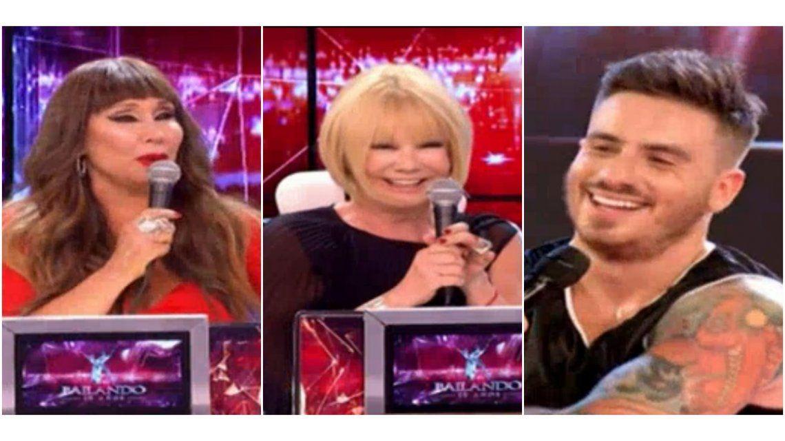Los desopilantes comentarios de Moria Casán y Solita Silveyra por el nuevo novio de Carmen Barbieri