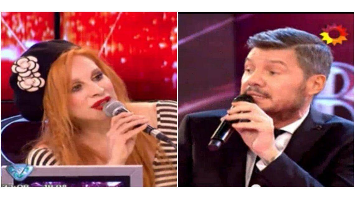 Picante entredicho entre Marcelo Tinelli y Nacha Guevara por el ritmo de improvisación