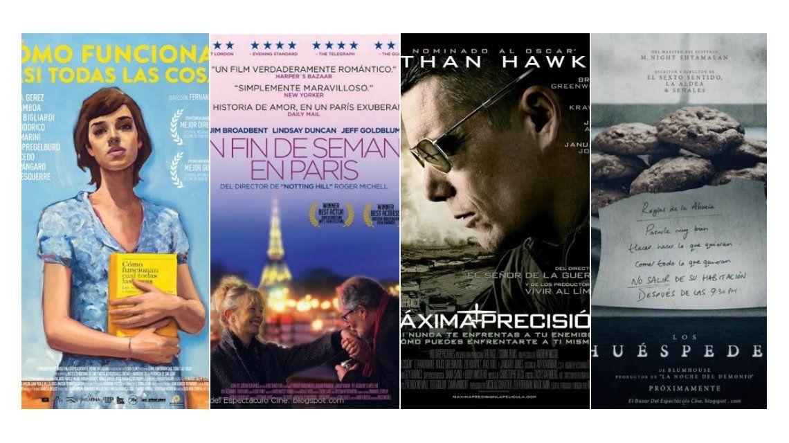 Mirá los estrenos de cine de esta semana