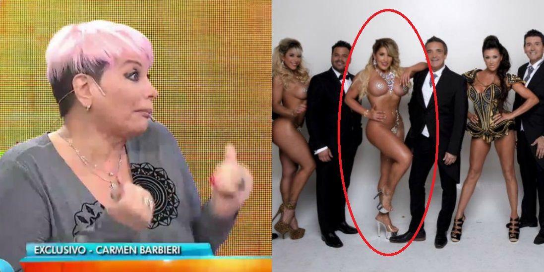 Carmen Barbieri, irónica con Ayelén Paleo: Así como la ven, baila muy bien tango