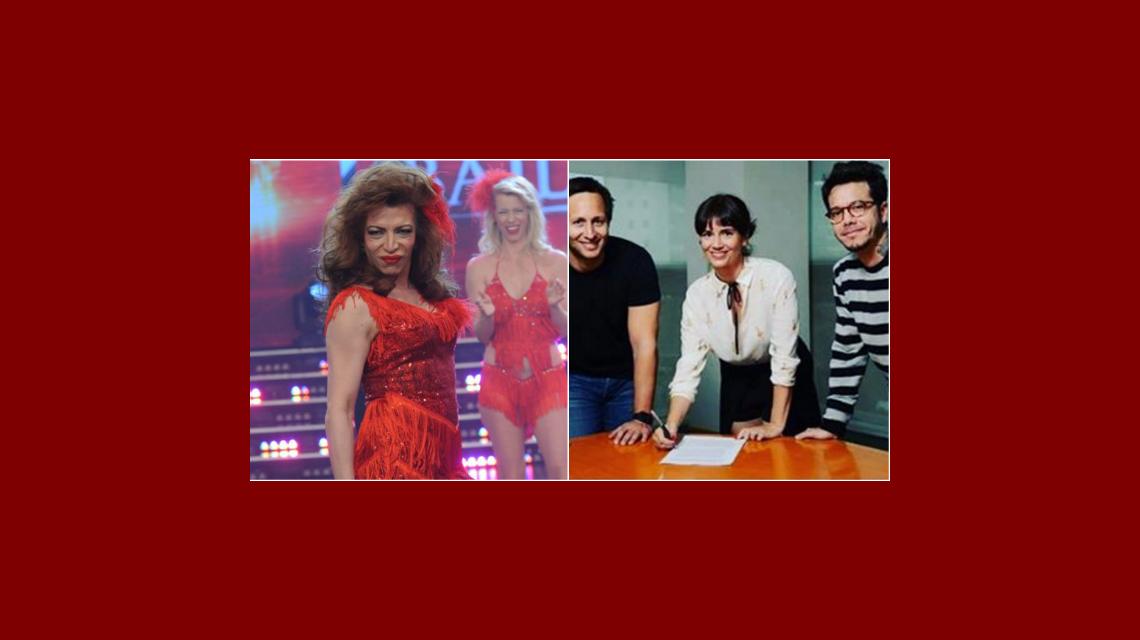 Lizy Tagliani abandona a Marcelo Tinelli para irse con Griselda Siciliani y Ortega
