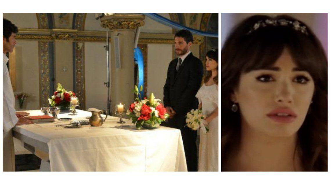 Lali Espósito y Mariano Martínez, en el altar: Esperanza no se casó y se reconcilio con el padre Tomás