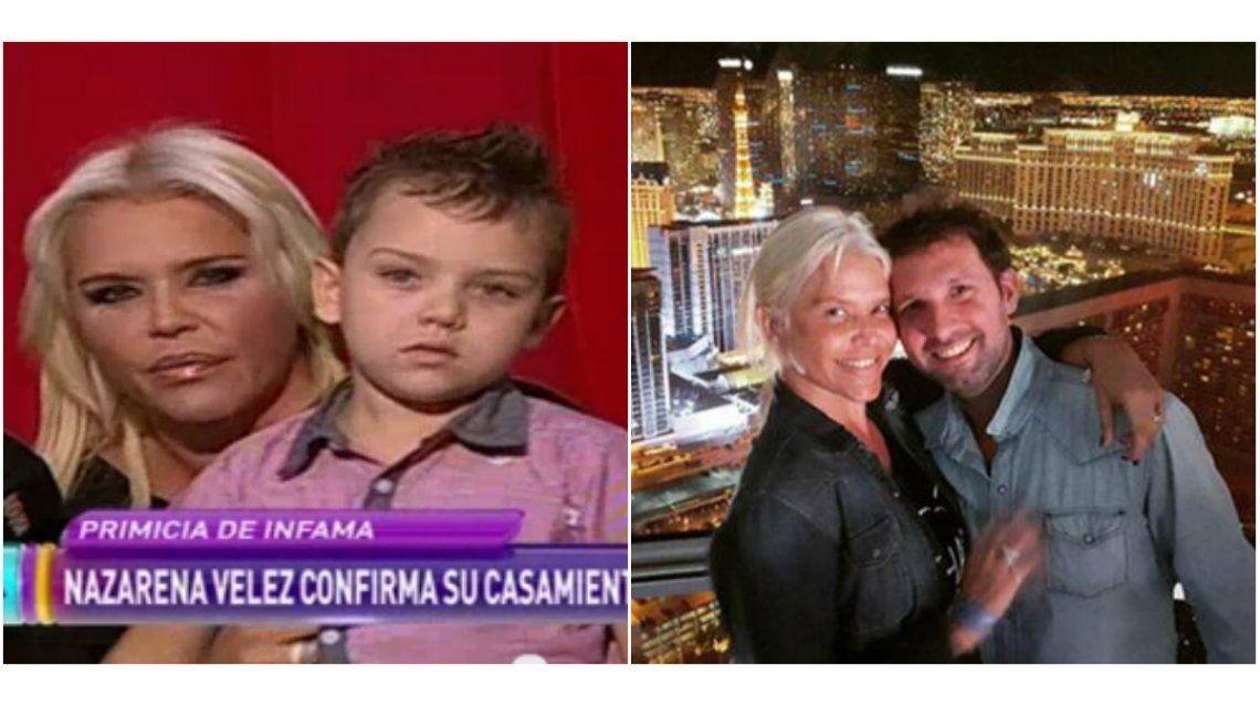 Nazarena Vélez confirmó que su casamiento es válido en Argentina: Lo hicimos como corresponde