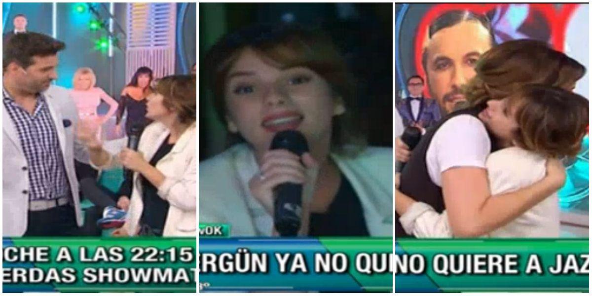 Sorpresiva interrupción de Gimena Accardi en Este es el show y abrazo con Paula Chaves