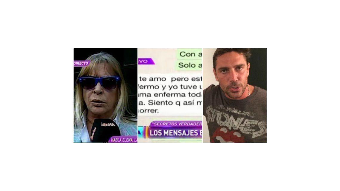Nuevo escandaloso chat entre Matías Alé y su madre: Si seguís consumiendo, ya no quiero estar más cerca tuyo