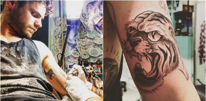 El nuevo y salvaje tatuaje de Gastón Soffritti: ¿a quién se lo dedicó?