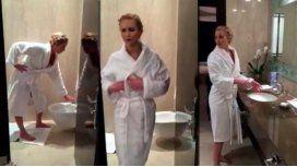 El video de Jennifer Lawrence en el baño que se volvió viral
